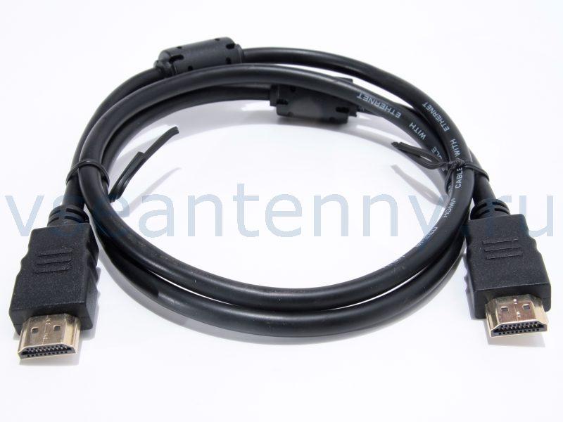 Кабель HDMI - HDMI gold, 1М с фильтрами PROCONNECT