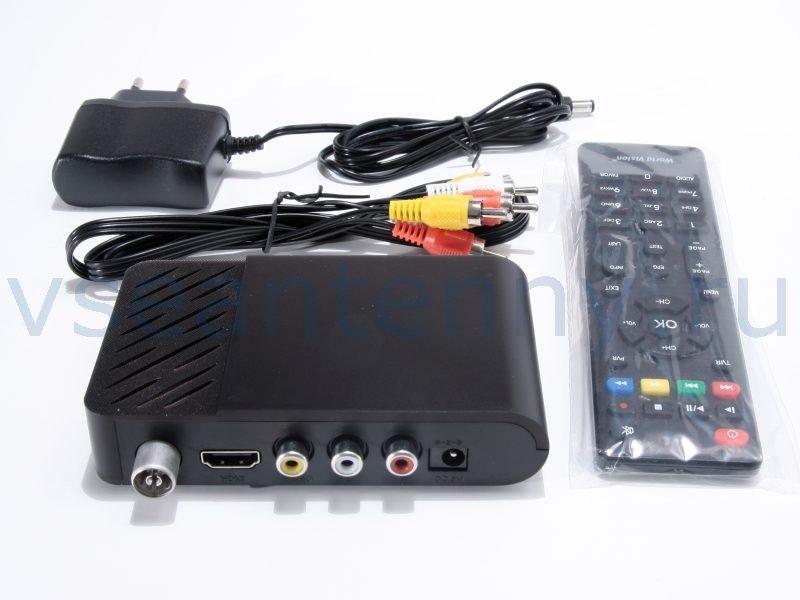 Цифровая ТВ приставка World Vision T65