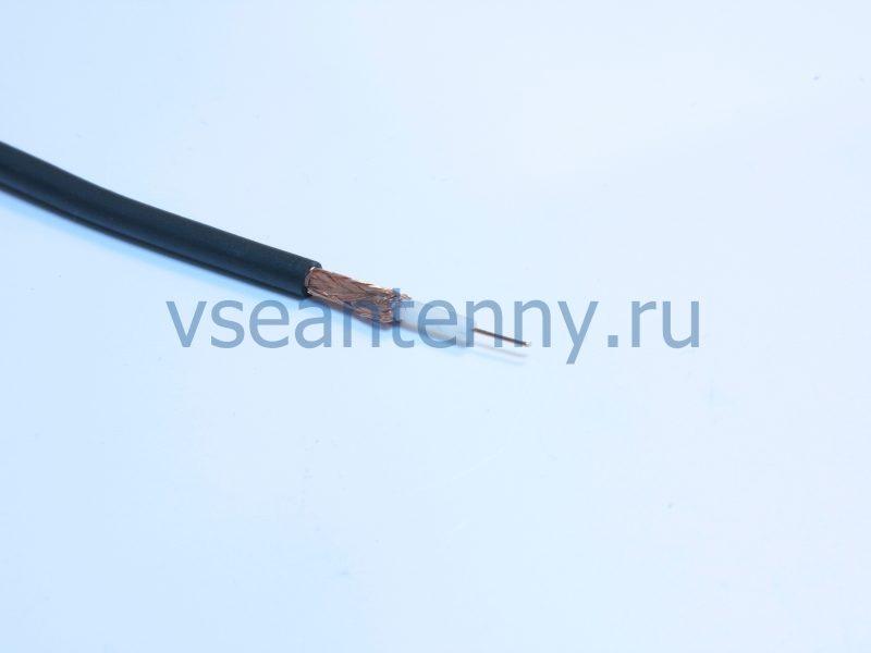 Кабель РК 75-3-31Анг «Кабельные технологии» Черный огнестойкий