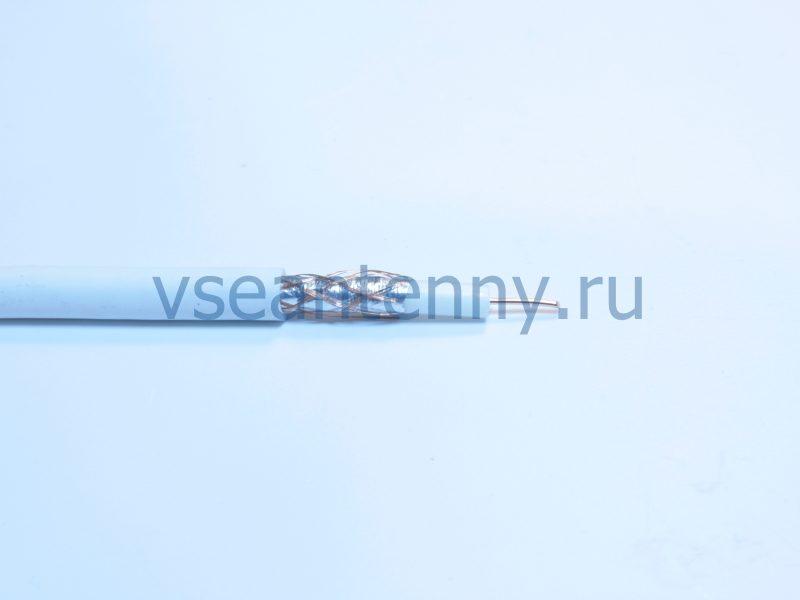 Кабель РК 75-4,3-31 (RG-6) «Чувашкабель» Белый