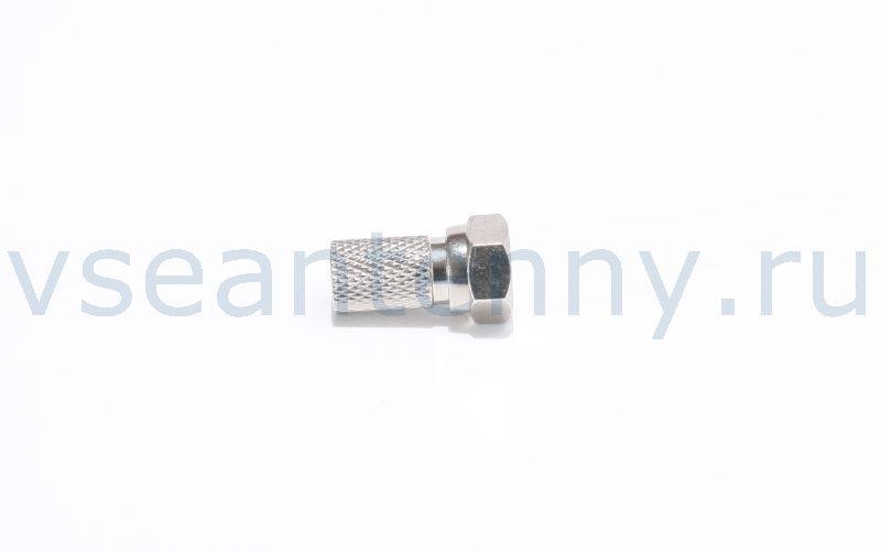 Данный F – разъем с резиновым уплотнителем предназначен для накручивания на коаксиальные кабели типа RG-6, SAT-50, SAT-703 и подобные. Резиновый уплотнитель способствует большей герметичности соединения. Перед накручиванием кабель необходимо предварительно разделать. Разъемы F – типа наиболее часто используются в сфере приема телевидения.