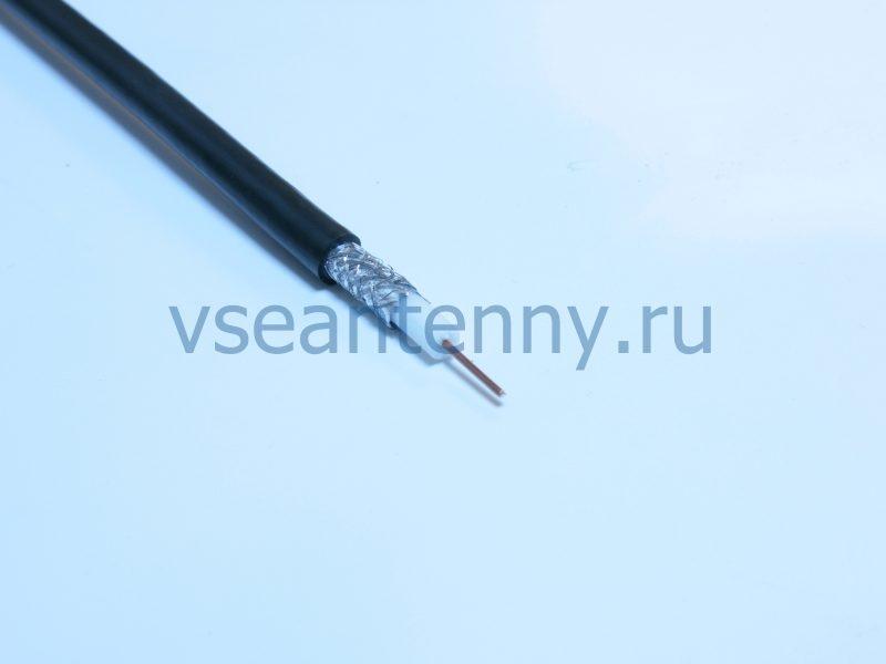 Кабель РК 75-4,9-312А (RG-6) «Кабельные технологии» Черный