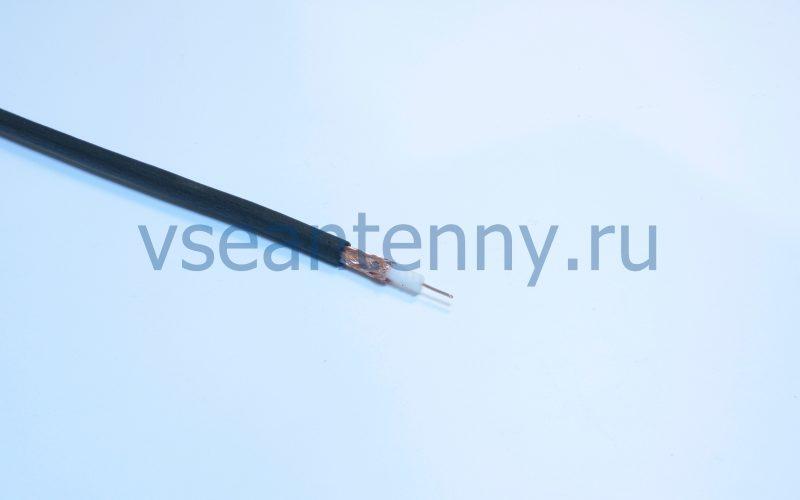 Кабель РК 75-4-31Анг «Кабельные технологии» Черный огнестойкий