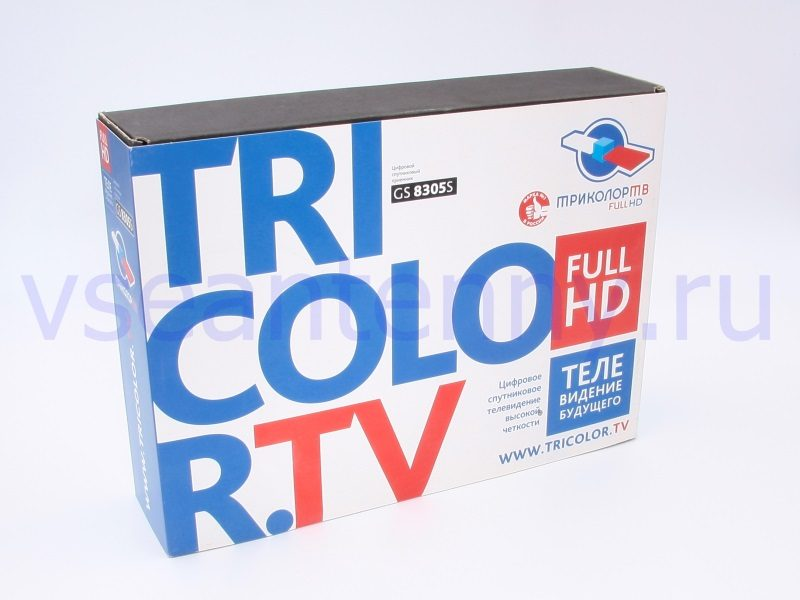 Приставка телевизионная спутниковая TRICOLOR TV General Satelitte GS8305